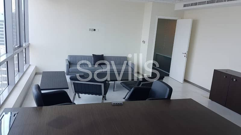 2 Unique Fully fitted Offices in Accessible Location in Abu Dhabi