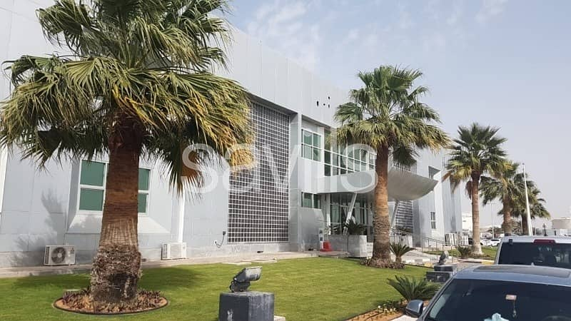 Unique Standalone Office Building for Lease beside Abu Dhabi International Airpo
