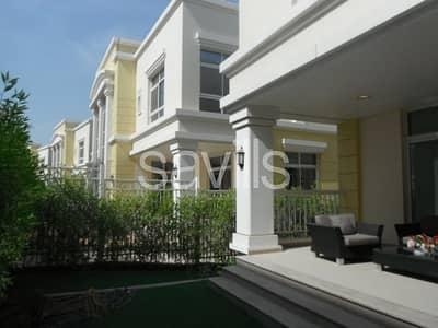 فیلا 5 غرفة نوم للايجار في قرية الفرسان، أبوظبي - Contemporary 5 bedroom villa in Al Forsan Village