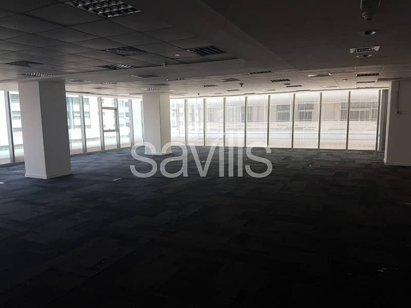 Office for Lease - Semi fitted Office in Danet Abu Dhabi