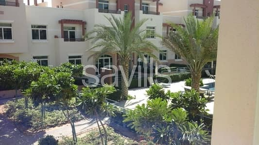 2 Bedroom Flat for Sale in Al Ghadeer, Abu Dhabi - 2 br terrace apartment corner unit pool view with rent back