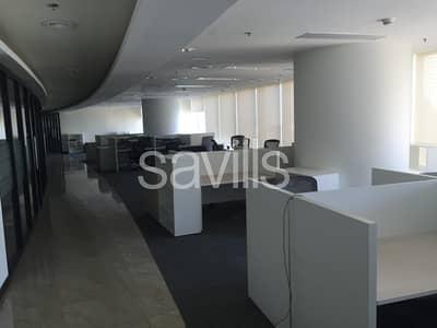مکتب  للايجار في جزيرة الريم، أبوظبي - Fully fitted office in Sky Tower for Lease in High Floor