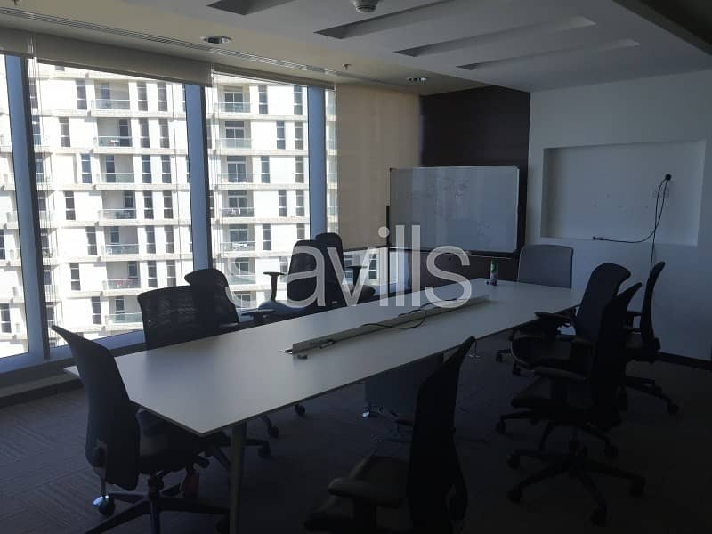 2 Fully fitted office in Sky Tower for Lease in High Floor