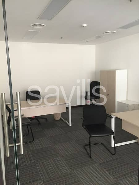 12 Fully fitted  office in Sky Tower for Lease
