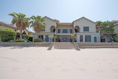 فیلا 6 غرفة نوم للايجار في نخلة جميرا، دبي - Signature villa  Ocean view  High number