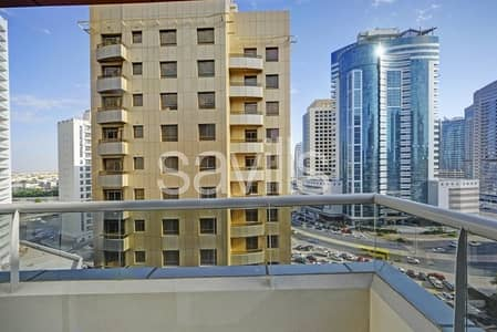 1 Bedroom Flat for Rent in Barsha Heights (Tecom), Dubai - 1br with Balcony | Close to Metro | 4 Chqs