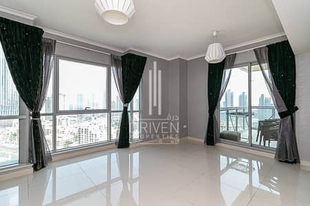 3 Bedroom Flat for Rent in Downtown Dubai, Dubai - Huge Layout Apartment | Excellent Location