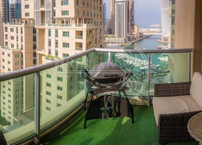 4 Bedroom Apartment for Sale in Dubai Marina, Dubai - Upgraded 4Bedroom+Maid  On High Floor foe sale.