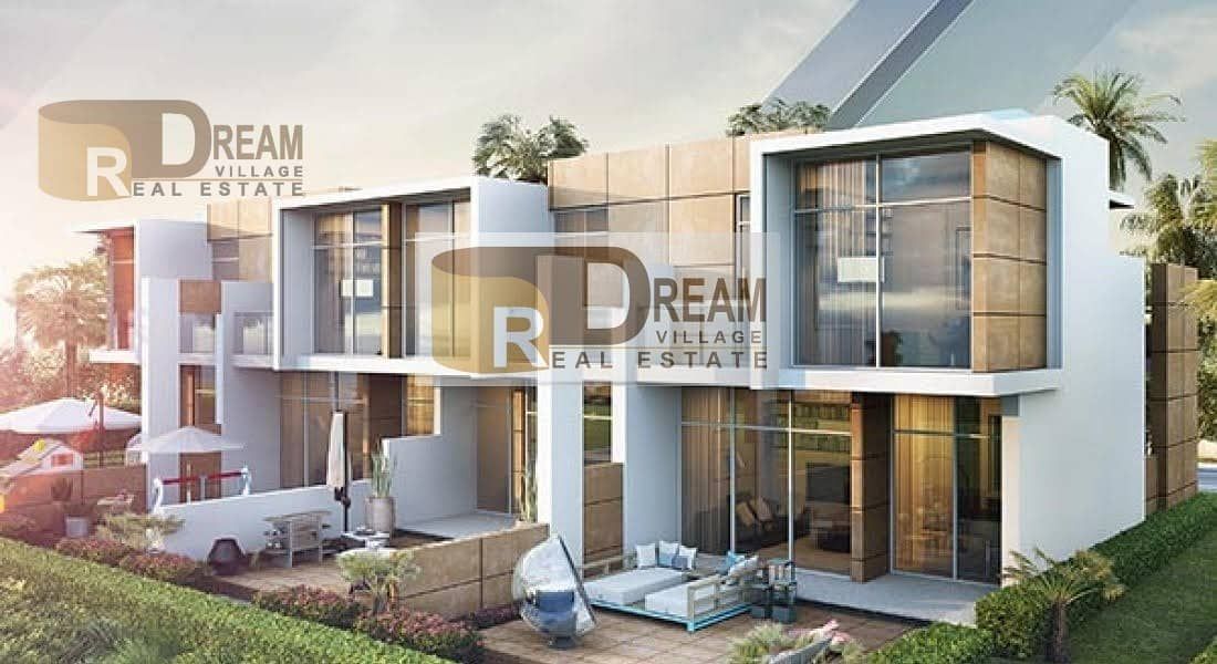 2 Villa inspired by the desert in a very sophisticated residential complex with a competitive price 1.