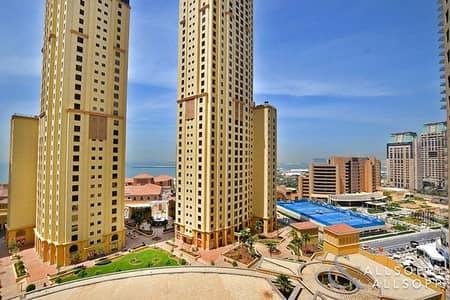 3 Bedroom Apartment for Sale in Jumeirah Beach Residence (JBR), Dubai - 3 Bedrooms | Rented | Partial Sea Views
