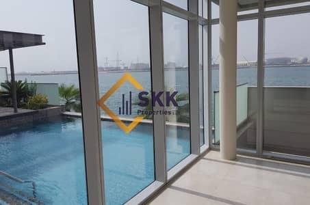 5 Bedroom Villa for Rent in Al Raha Beach, Abu Dhabi - Luxury 5BR Villa w/Mesmerizing Full Sea View