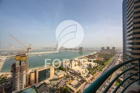 شقة 3 غرفة نوم للايجار في دبي مارينا، دبي - Full Sea View | Furnished | 3BR | High Floor