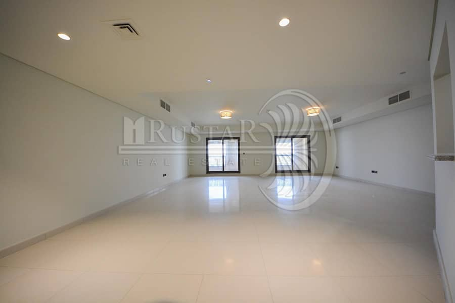 2 High Floor - Full Palm View 4B/R plus maid for rent