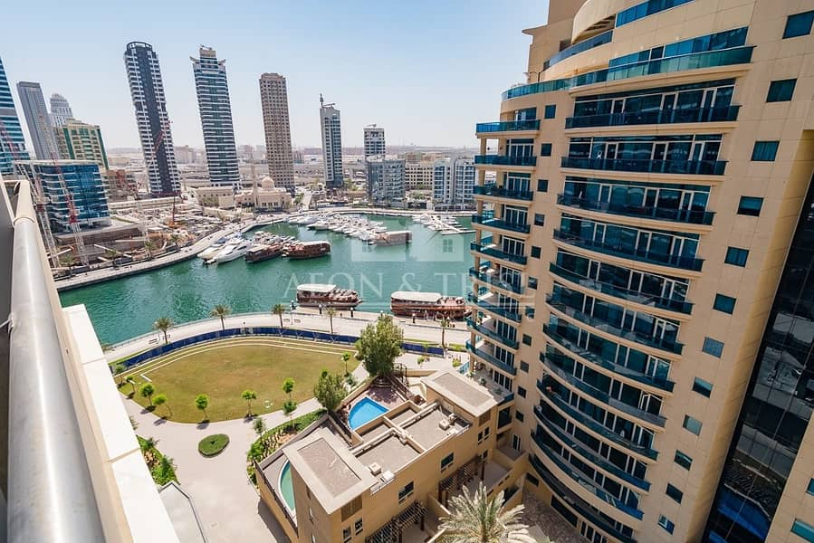 Furnished I Vacant I Marina View I Middle floor