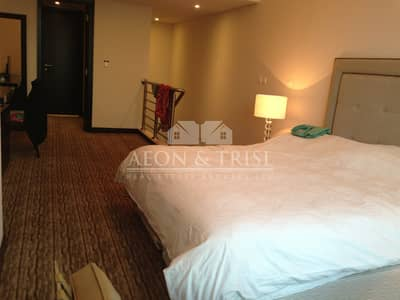 1 Bedroom Flat for Rent in Jumeirah Lake Towers (JLT), Dubai -  Furnished 1 Bed Duplex - Laguna.