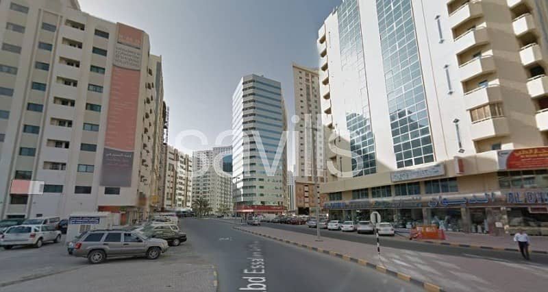 Great Location.Mix Use rented Tower in Majaz Sharjah
