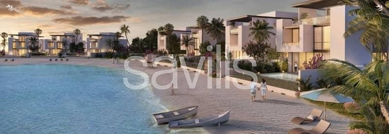فیلا 4 غرفة نوم للبيع في مدينة الشارقة للواجهات المائية، الشارقة - Independent beach villa with access to marina