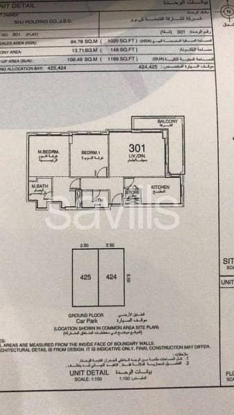 18 Ready corner apartment with L-shape balcony