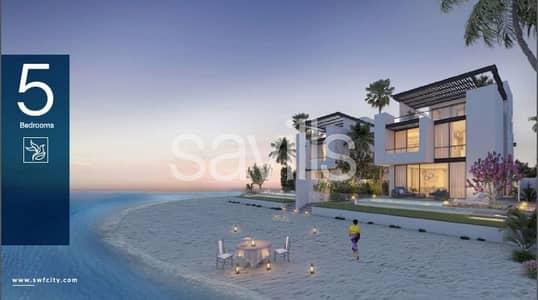 فیلا 5 غرفة نوم للبيع في مدينة الشارقة للواجهات المائية، الشارقة - Spacious 5 bedroom villa with beach  and marina