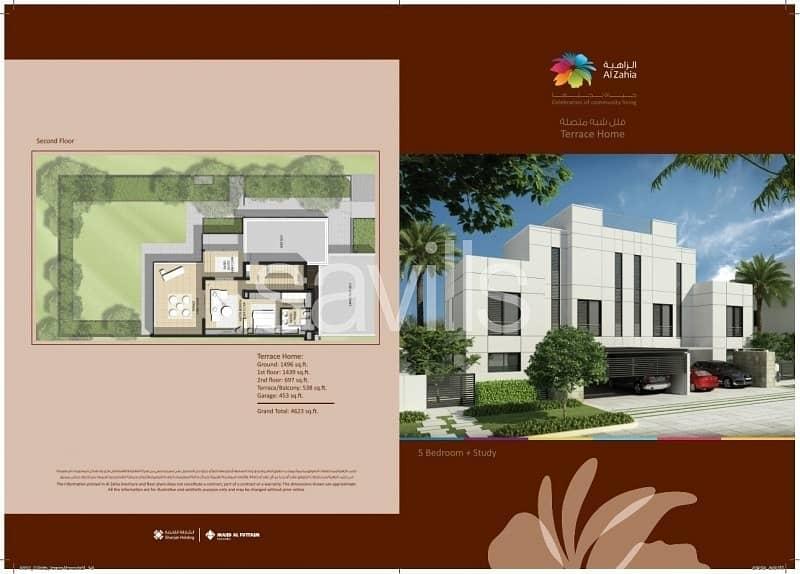 22 Corner 6 BR semi-detached villa with garden