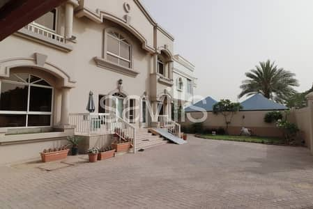 6 Bedroom Villa for Sale in Al Mirgab, Sharjah - Primary located villa with swimming pool