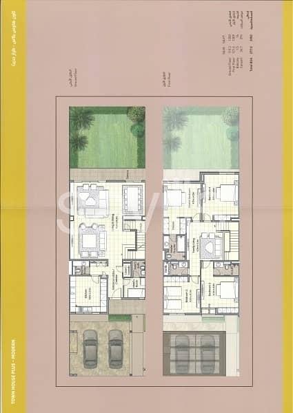 20 Corner plot in with big garden and parking