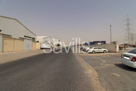 Plot for Sale in Industrial Area, Sharjah - Three plots in Ind Area 18 close to E611
