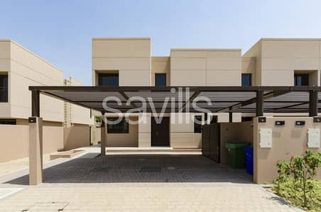 3 Bedroom Townhouse for Rent in Muwaileh, Sharjah - End unit with bigger plot and maid's room