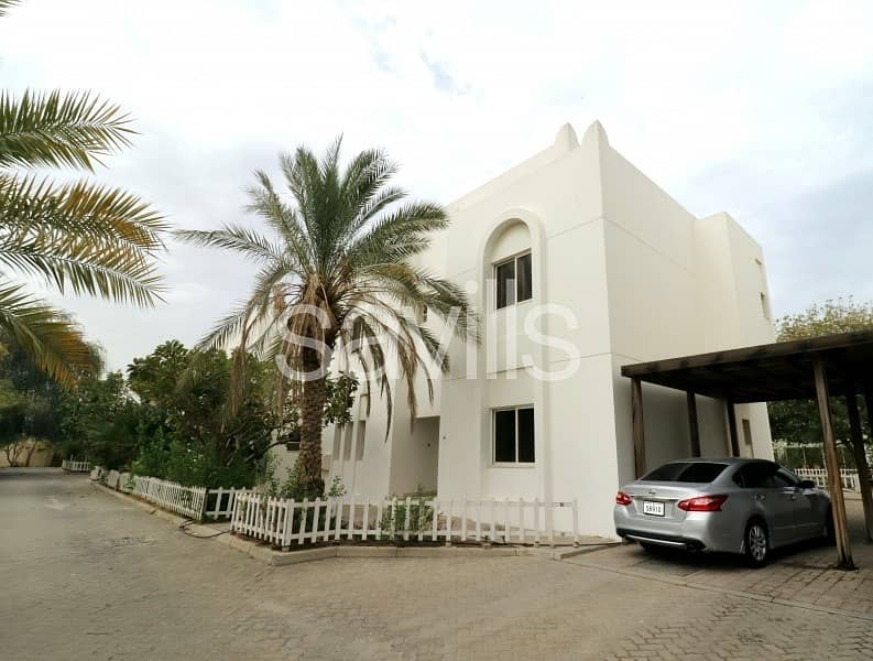 Spacious villa in popular gated community