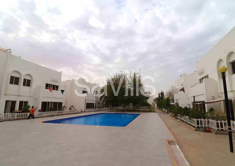 2 Spacious villa in popular gated community