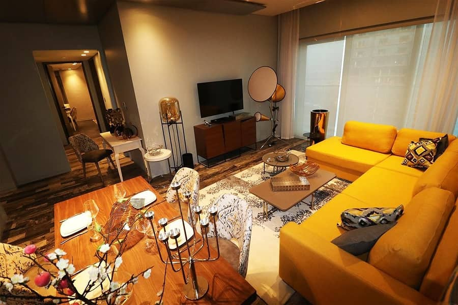 ROI Fendi Apt 2 Bedrooms High End with Marina View