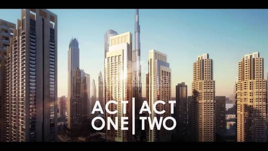 2 Bedroom Apartment for Sale in Downtown Dubai, Dubai - High ROI|FREE service charge|50% Postpay