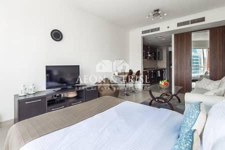 Studio for Sale in Jumeirah Lake Towers (JLT), Dubai - High Floor I Full Lake Views I Rented I Near Metro