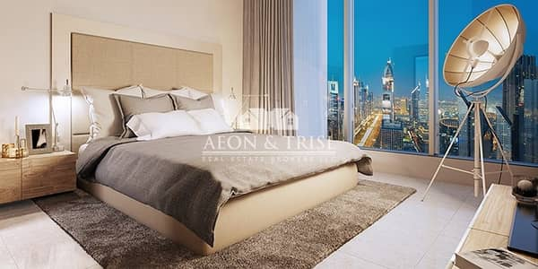 فلیٹ 2 غرفة نوم للبيع في وسط مدينة دبي، دبي - FORTE 2BR | Overlooking the iconic Opera