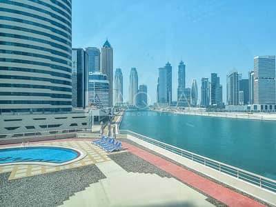 Office for Rent in Business Bay, Dubai - Full Canal View | Fully Fitted Office