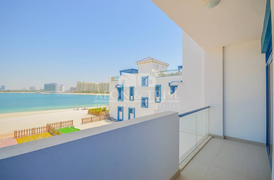 22 Burj Al Arab view I Palma Residences I Beach Acces