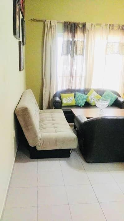 فلیٹ 1 غرفة نوم للايجار في مجمع دبي ريزيدنس، دبي - شقة في انديجو فالي مجمع دبي ريزيدنس 1 غرف 33000 درهم - 4317513