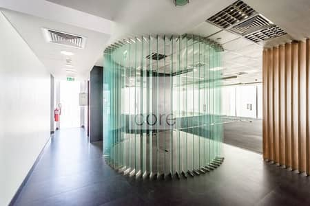 Office for Rent in Al Barsha, Dubai - Fitted with Glass Partitions | Full Floor