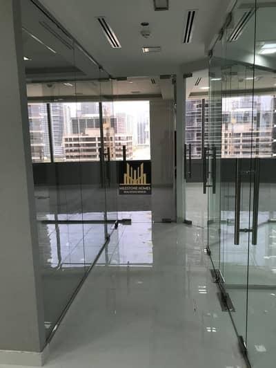 مکتب  للبيع في أبراج بحيرات الجميرا، دبي - Fully Fitted & Furnished | High Floor | Glass Partitions