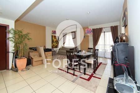 شقة 2 غرفة نوم للايجار في جي بي ار، دبي - Spacious 2 Bedroom Apartment Vacant and Furnished