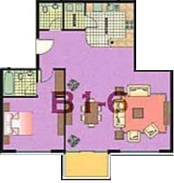 10 Vacant On Transfer | 1 Bed | High Floor