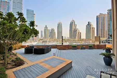 3 Bedroom Flat for Sale in Dubai Marina, Dubai - Private Garden | 3 Bed Plus Maids | Vacant