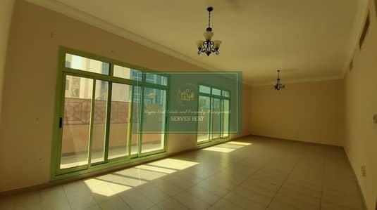 3 Bedroom Flat for Rent in Al Manaseer, Abu Dhabi - Ground Floor 3 Beds with Terrace/Parking/Maid Room