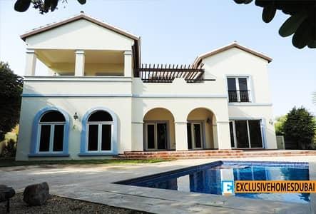 5 Bedroom Villa for Sale in The Villa, Dubai - Valencia | 5 Bed + Maid + Study | Private pool