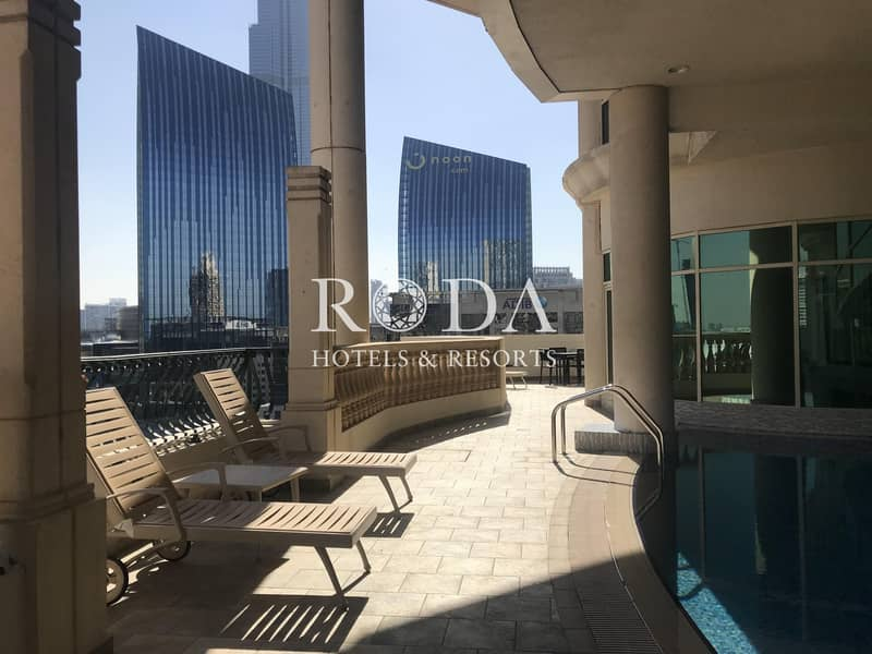 20 Burj Khalifa View|Private Pool|No Additional Costs