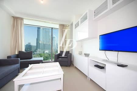 1 Bedroom Flat for Sale in Downtown Dubai, Dubai - Stunning Burj View|Fully Furnished|Ready Now|