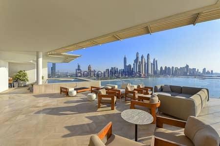 بنتهاوس 4 غرفة نوم للايجار في نخلة جميرا، دبي - Furnished | Penthouse I Sea View