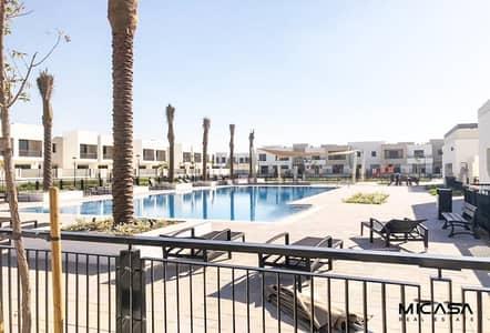 3 Bedroom Villa for Rent in Town Square, Dubai - Landscaped Garden/ Single Row/ 3 BR plus maid