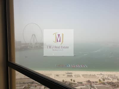 3 Bedroom Apartment for Rent in Jumeirah Beach Residence (JBR), Dubai - Full Sea View