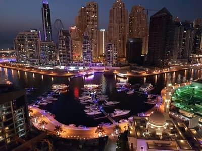 1 Bedroom Apartment for Rent in Dubai Marina, Dubai - Excellente 1bedroom | Chiller Fee | Vacant [PA]